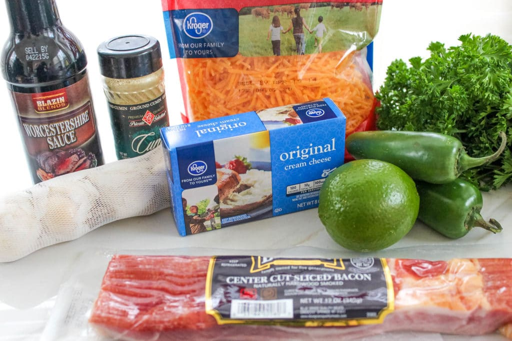 Jalapeno Bacon Cheese Ball Recipe ingredients