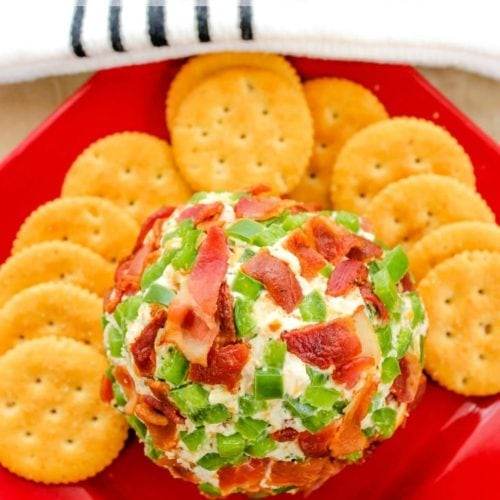 Jalapeno Bacon Cheese Ball Recipe