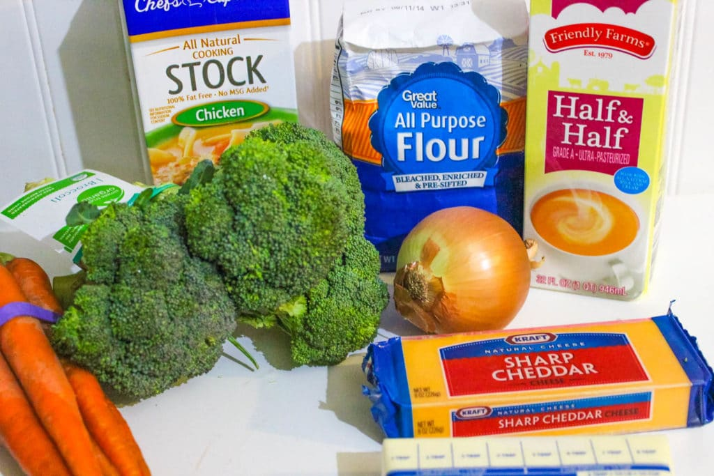 Panera Broccoli Cheddar Soup Ingredients