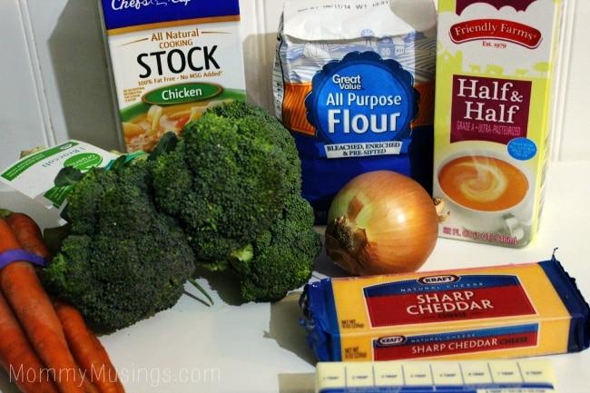 panera copycat broccoli cheddar soup