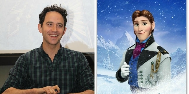 An Interview with Santino Fontana of Disney's FROZEN # ...