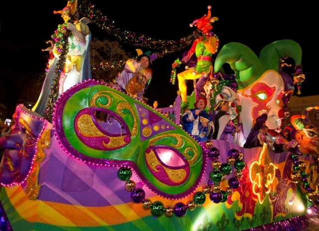 Mardi Gras at Universal Orlando