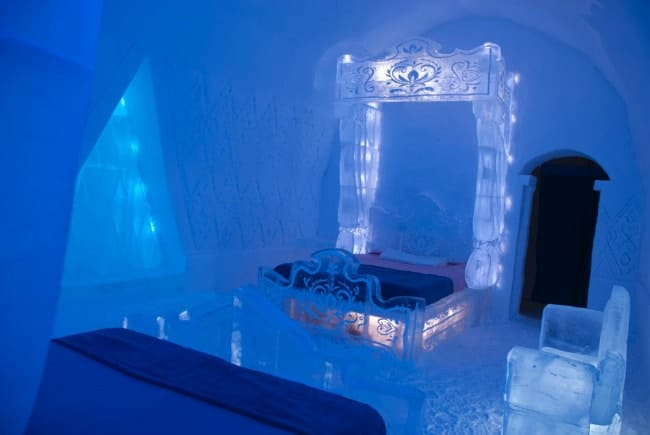 disney's frozen ice hotel