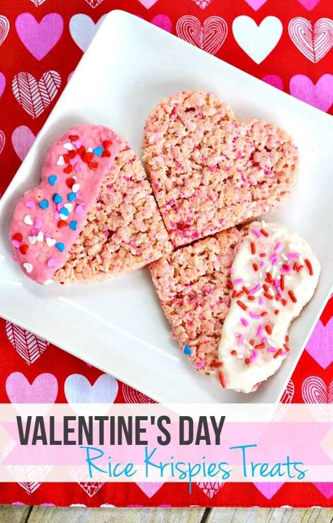 Valentine\'s Day Rice Krispies Treats Recipe