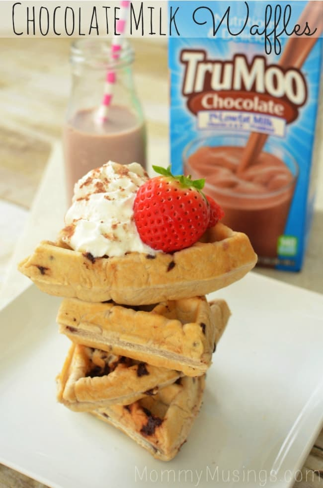 Chocolate Milk Waffles Recipe