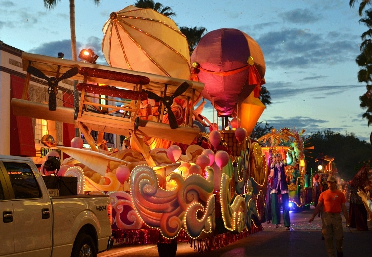 around the world in eighty days float