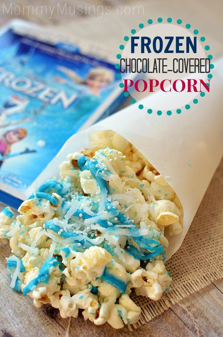 frozen movie popcorn