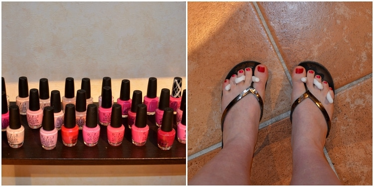 caribe royale pedicure