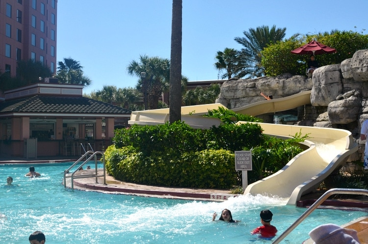 caribe royale waterslide