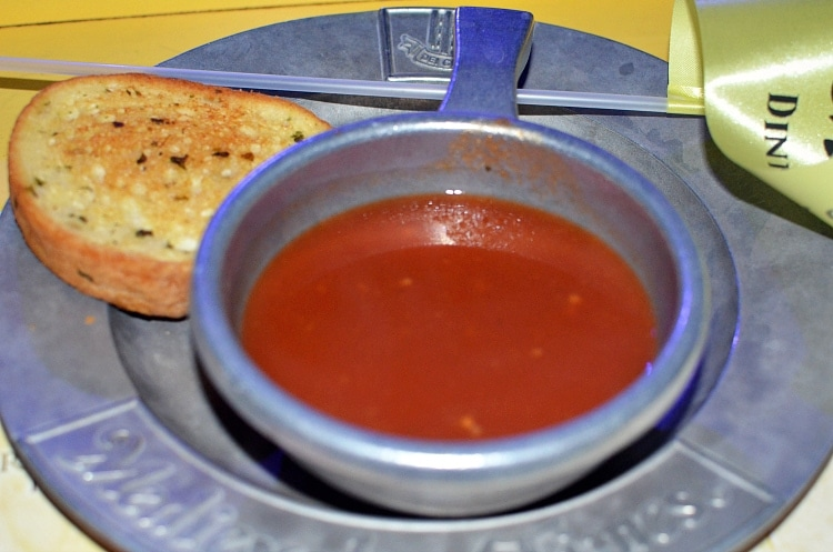 medieval times tomato soup