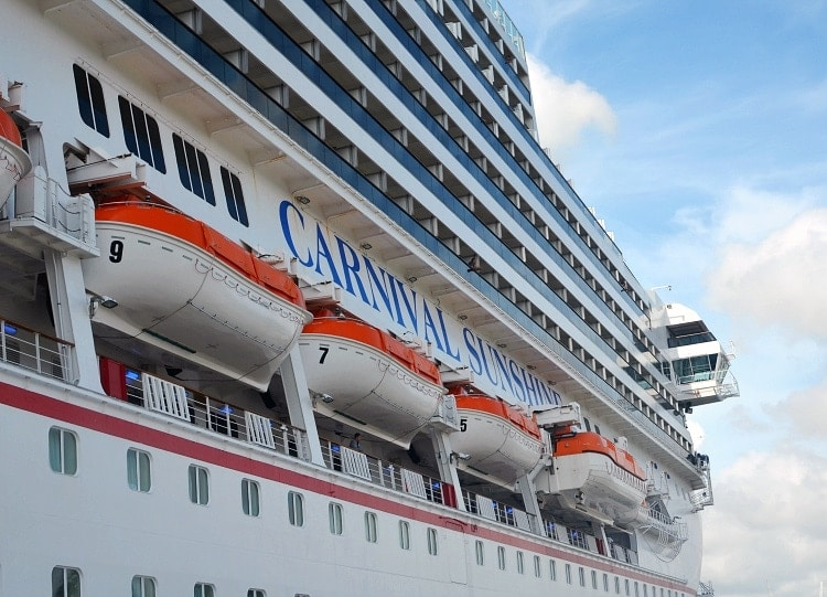 carnival sunshine port canaveral