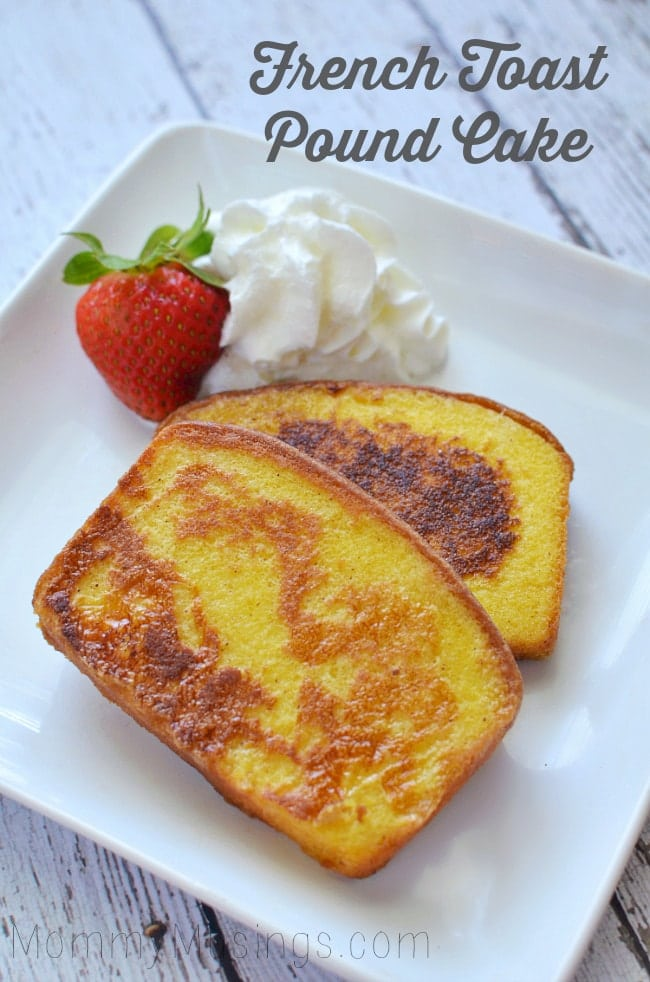 pound cake french toast recipe