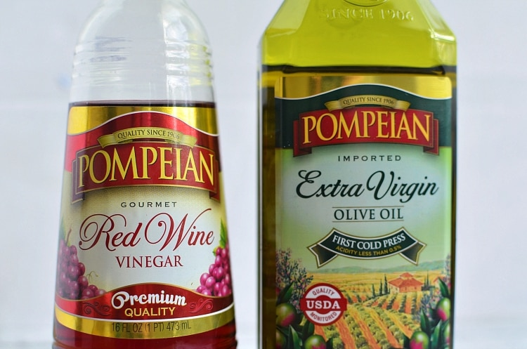 pompeian vinegar oil