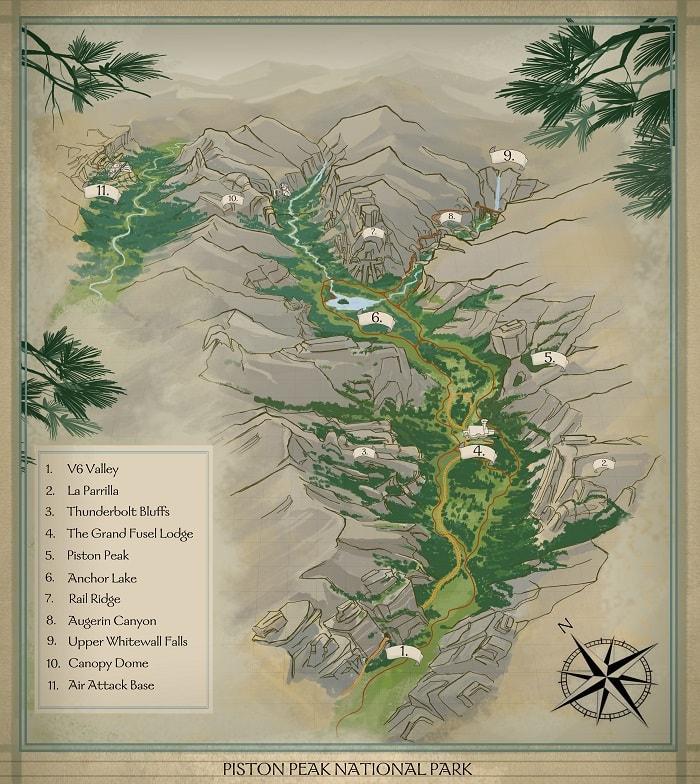 piston peak map