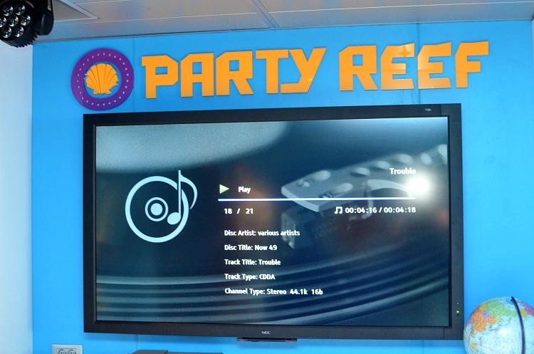 camp ocean party reef