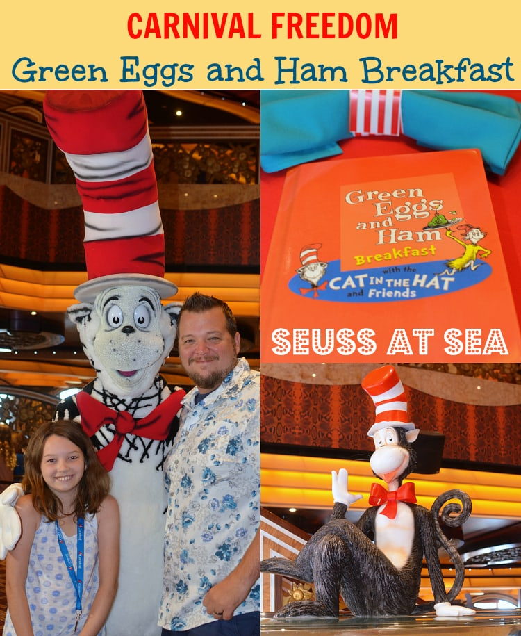 , the star of the show is the exclusive Green Eggs and Ham Breakfast ...