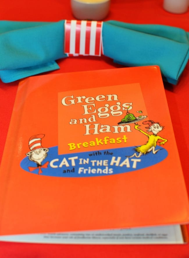 green eggs and ham breakfast menu