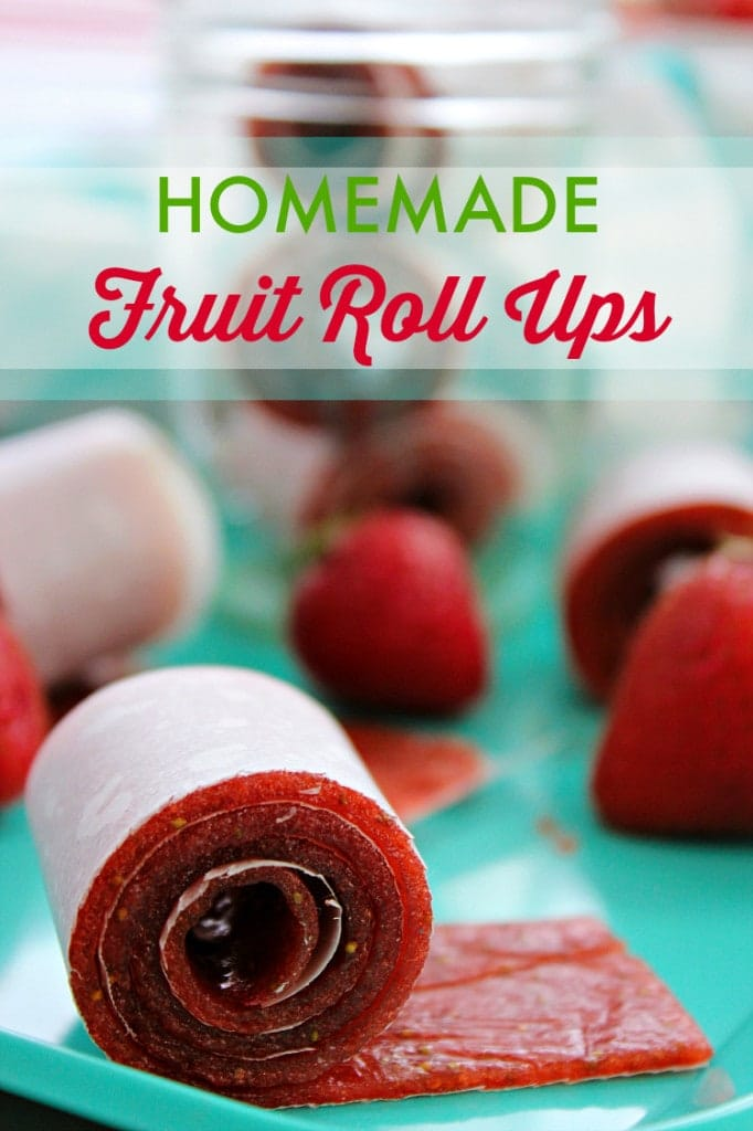 healthy fruit popsicles homemade fruit roll ups