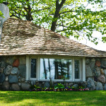 Mushroom Houses Of Charlevoix, Michigan