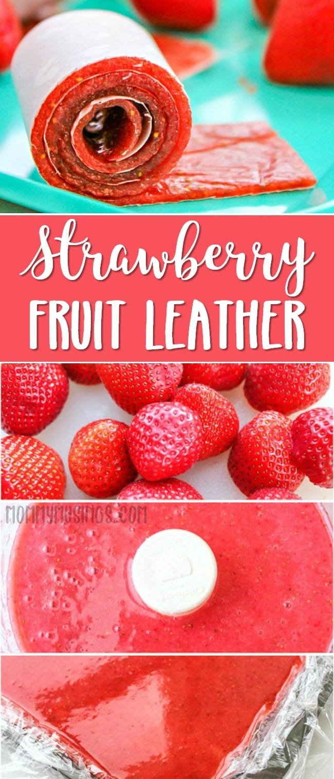 strawberry fruit leather recipe homemade fruit roll ups