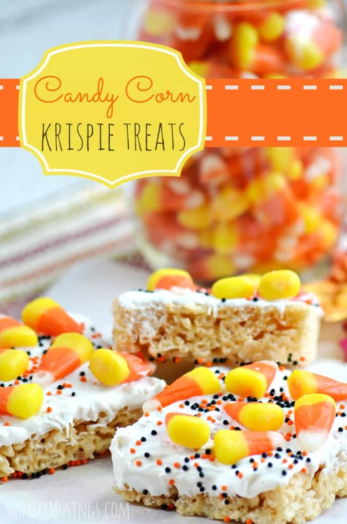 Candy Corn Rice Krispies Treats Recipe