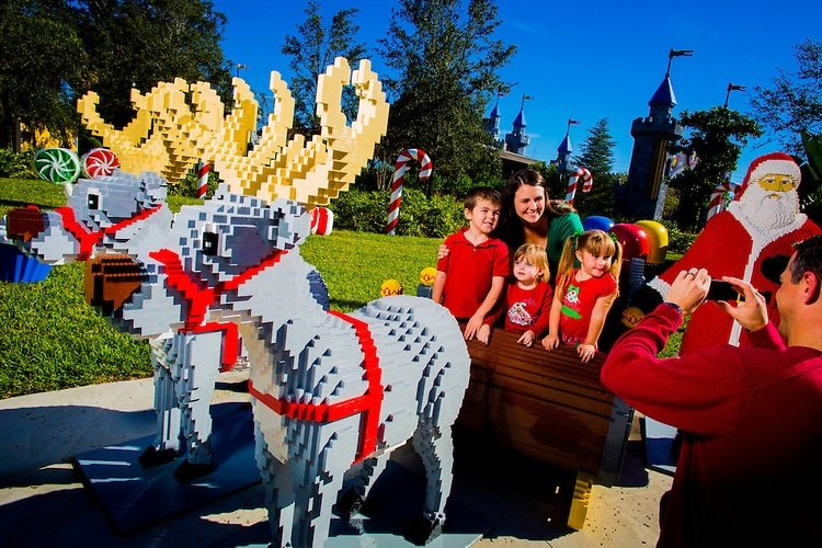 Legoland Christmas Bricktacular