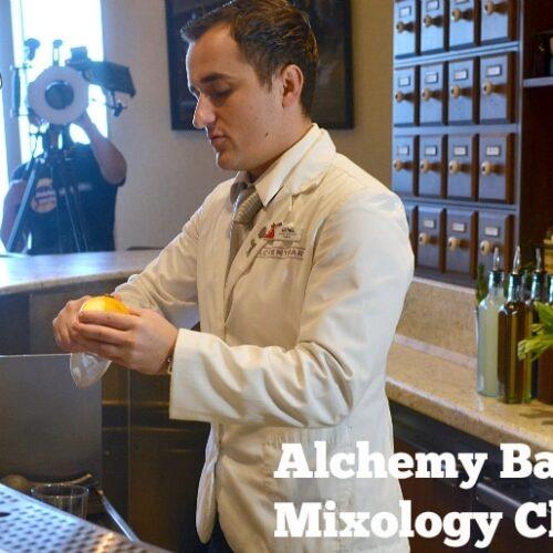 alchemy bar mixology class