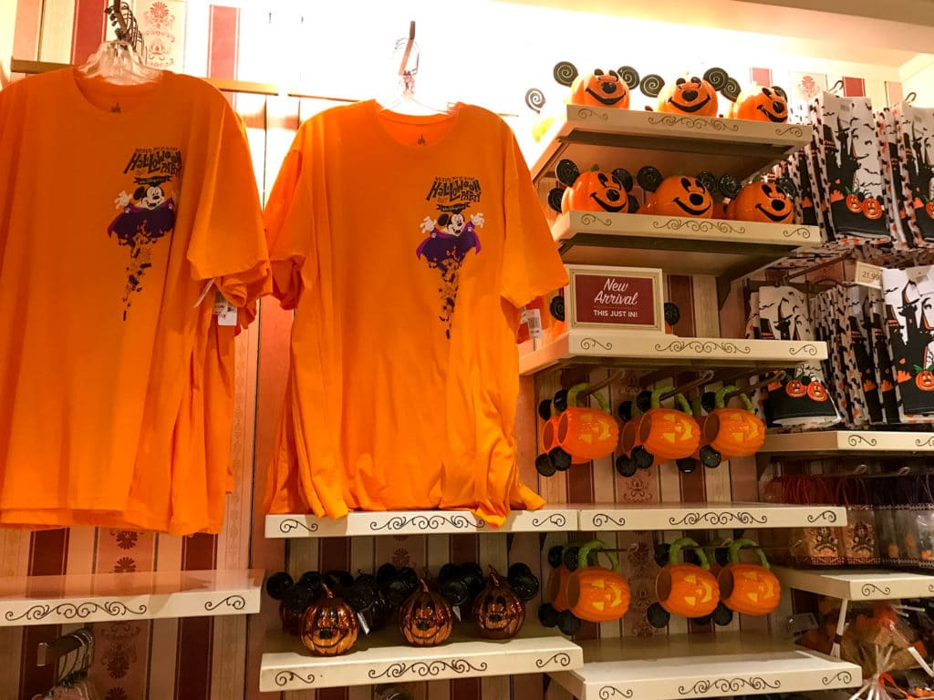 mickey's not so scary halloween party merchandise