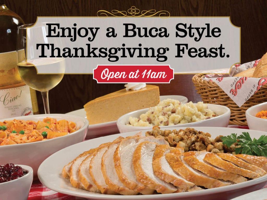 Buca Di Beppo S Thanksgiving Feast