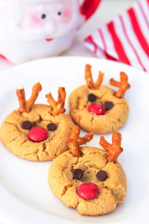 Rudolph Peanut Butter Cookies Recipe Peanut Butter