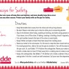 Kidde #RecipeforSafety Card