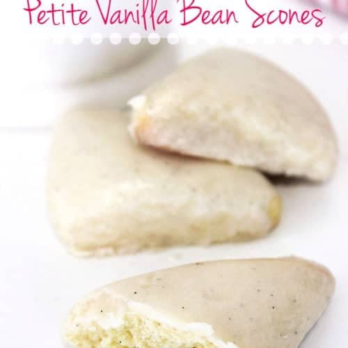 STARBUCKS VANILLA BEAN SCONES RECIPE