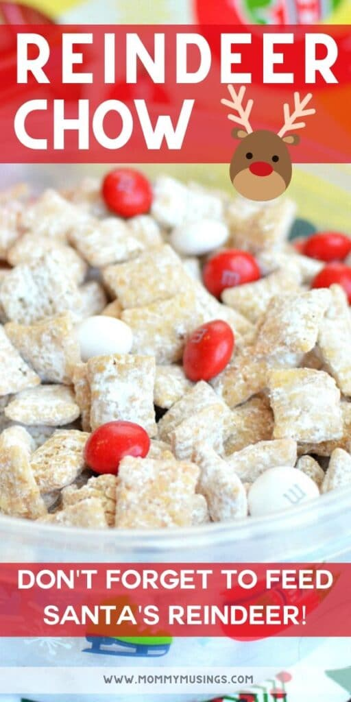 Reindeer Chow Recipe for Christmas