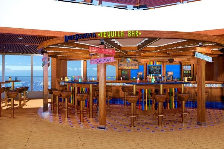 carnival vista BlueIguana Tequila Bar
