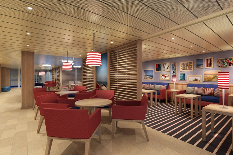 carnival vista Family Lounge