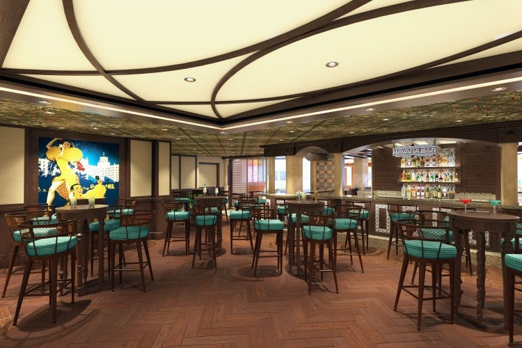 carnival vista havana Plaza Bar