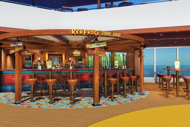 carnival vista RedFrog Rum Bar