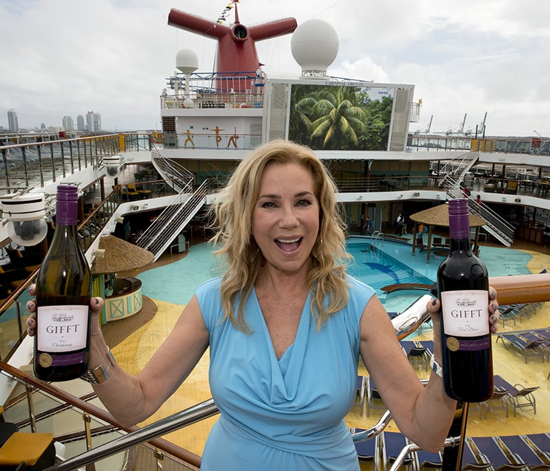 Carnival Cruise Lines Partners With Gifft Wines By Kathy