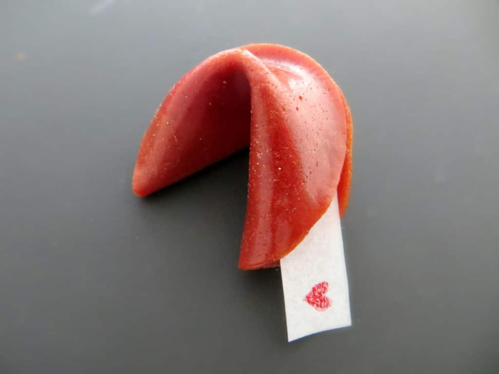fruit roll-up fortune cookie