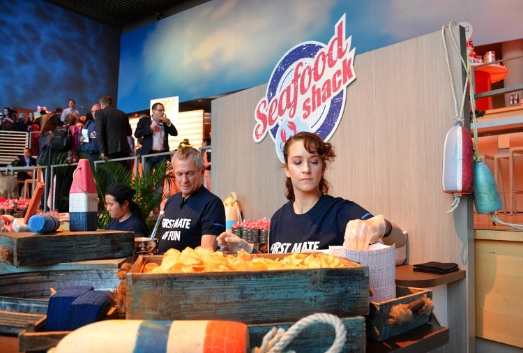 Carnival Vista Seafood Shack