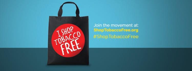 shop tobacco free