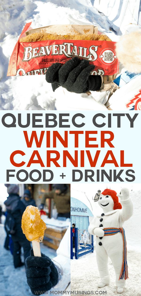 Quebec City Winter Carnival Food
