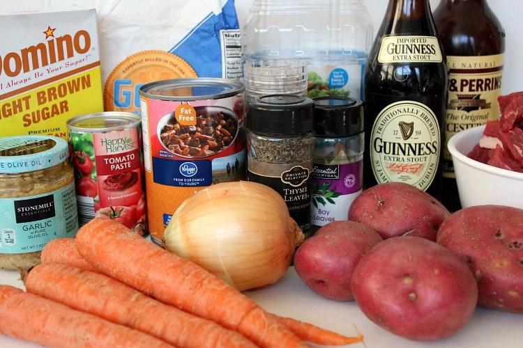 Beef Stew Ingredients