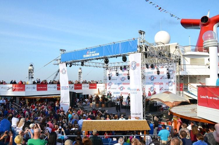 carnival live galveston