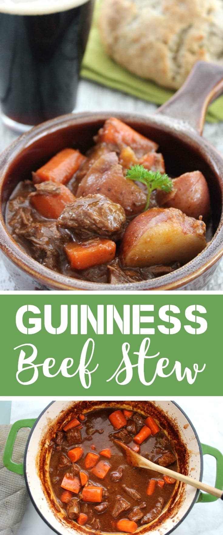 Guinness beef stew recipe st. patrick's day