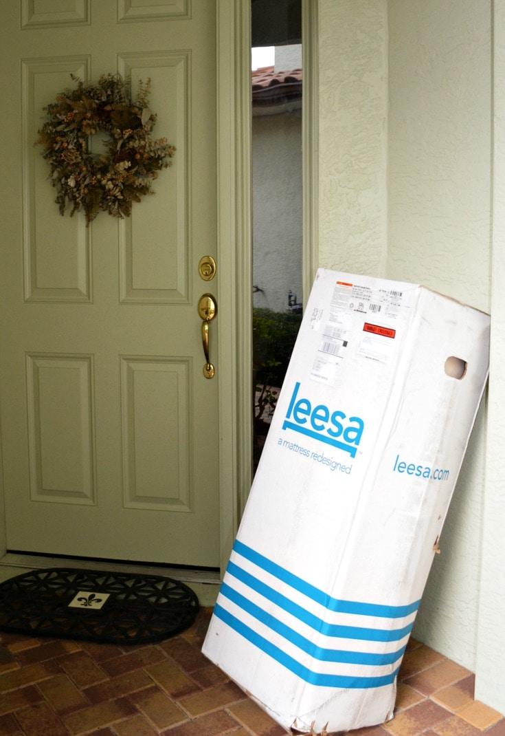 Queen Sized Memory Foam Mattress Leesa Mattress Review: Unboxing & First Impressions