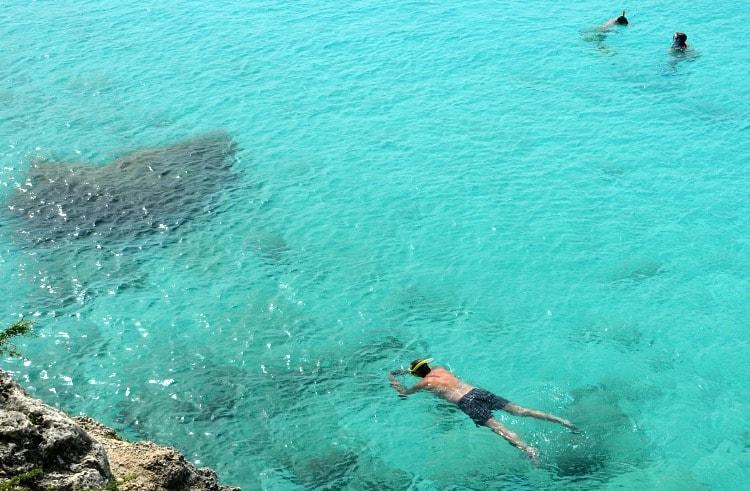 knip beach snorkeling
