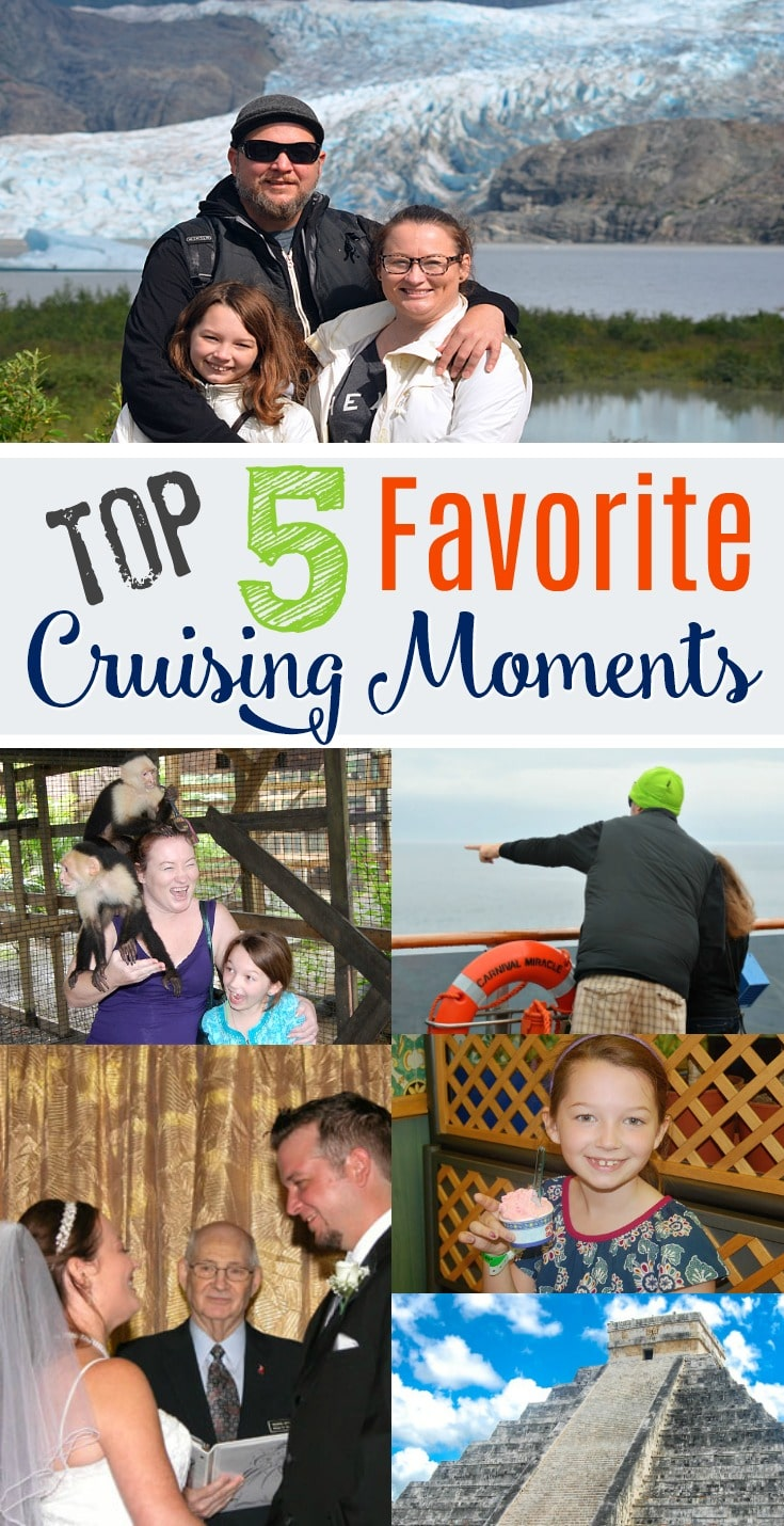 top 5 favorite cruising moments