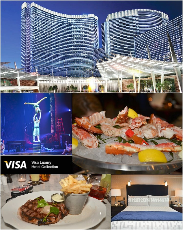 My kind of vegas introducing the visa signature luxury for Visa hotel luxury collection