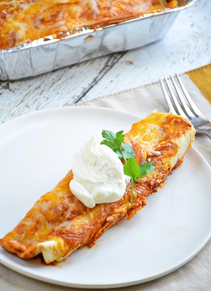 easy creamy Enchiladas Recipe
